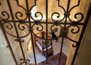 Intérieur du chateau de Falaise