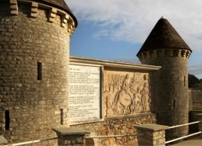 La fontaine d'Arlette à Falaise