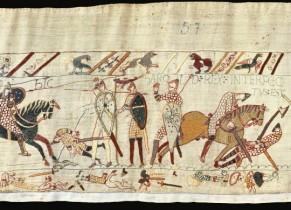 La bataille d'Hasting - Extrait de la Tapisserie de Bayeux