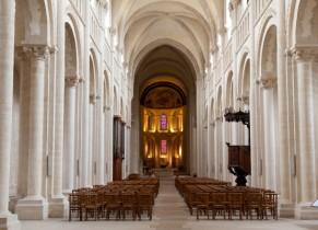 Intérieur de l'Abbaye aux Dames