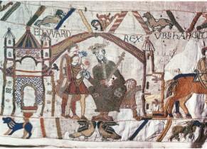 Extrait de la Tapisserie de Bayeux