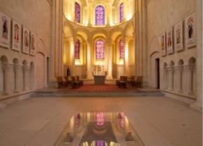 Tombeau de Mathilde dans l'abbaye aux Dames